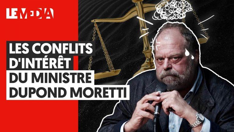 Les conflits d'intérêt du ministre Dupond Moretti