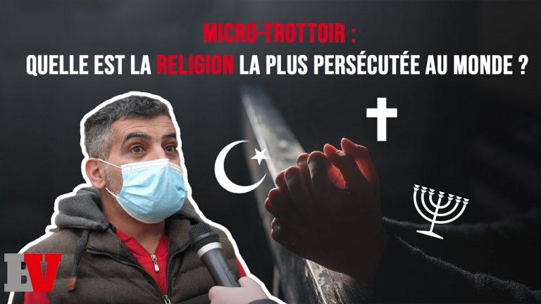 Islam, judaïsme, christianisme. Quelle est la religion la plus persécutée dans le monde ?