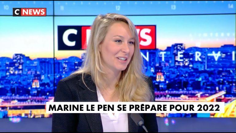 Marion Maréchal, invitée de Laurence Ferrari (Cnews)