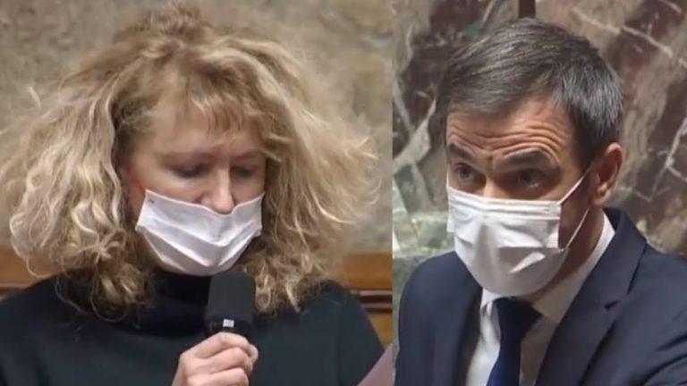 Altercation entre Martine Wonner et Olivier Véran à l'Assemblée nationale