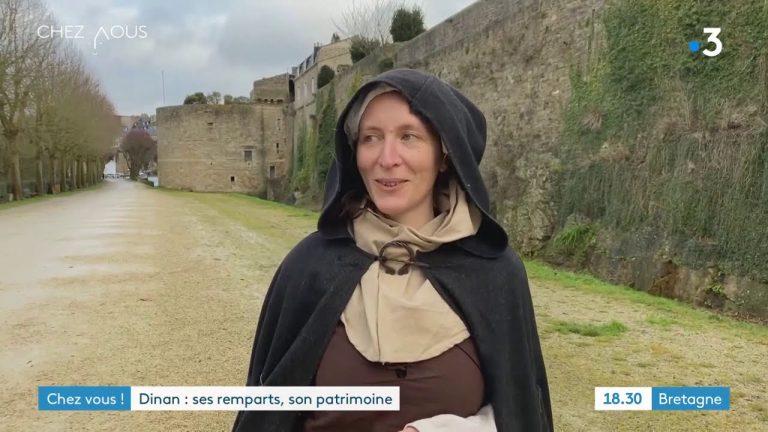 Dinan et ses remparts, les plus anciens de France
