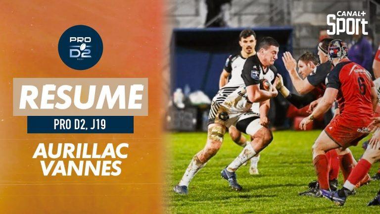 Rugby. Le RC Vannes s'impose en patron à Aurillac (9-22)