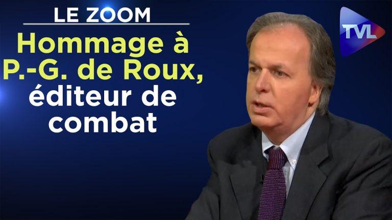 Hommage à Pierre-Guillaume de Roux, éditeur de combat