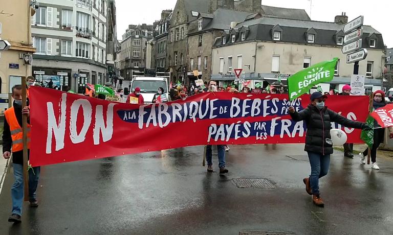 Loi de bioéthique. Retour sur la manifestation « Marchons enfants » à Saint-Brieuc