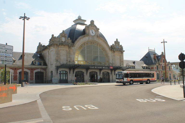 Saint-Brieuc, la gare introuvable sur l'application SNCF