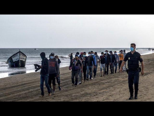 Assaut sur les îles Canaries. Le nombre d'arrivées de migrants clandestins a été multiplié par dix entre 2019 et 2020