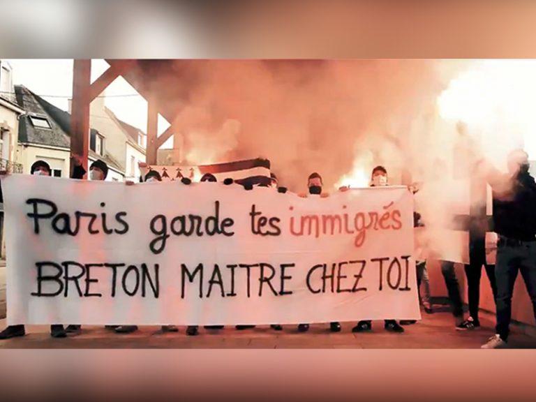 Ploërmel. Après leur action d'agit-prop : les jeunes nationalistes bretons s'expriment [Interview]