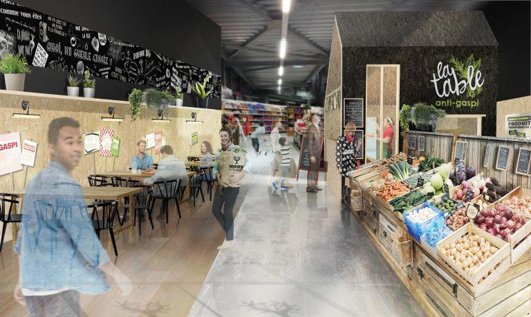 Le réseau français d'épiceries NOUS Anti-Gaspi ouvre son treizième magasin à Dinard