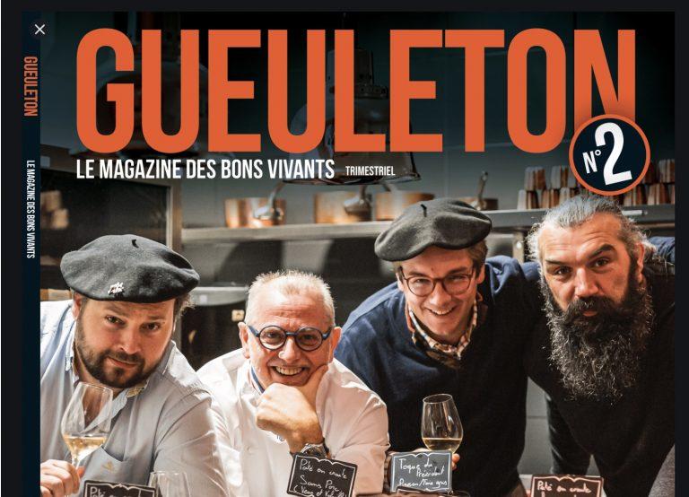Gueuleton, le magazine des bons vivants. Un bol d'air frais dans une ambiance si morose [Interview]