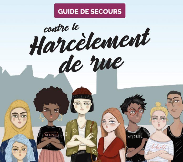 Un « Guide de secours contre le harcèlement de rue » en écriture inclusive financé par des collectivités bretonnes