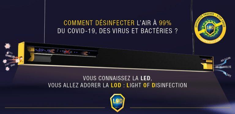 Covid-19 : Grand-Fougeray (35). Une entreprise fabrique une lampe qui tue les virus dans l'air