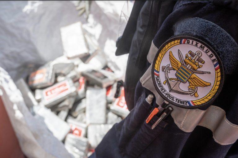 Saisie record de cocaïne dans le golfe de Guinée par la Marine nationale