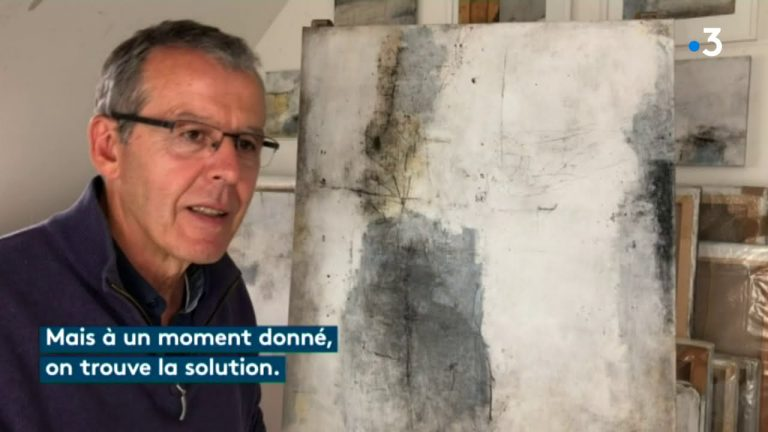 Dans l'Antre de l'Atelier du peintre breton Pierre Delcourt