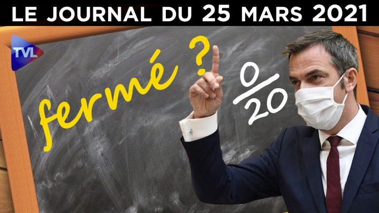Covid : le zéro pointé de Véran – JT du jeudi 25 mars 2021