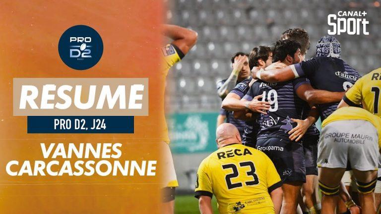 Rugby. Le RC Vannes poursuit son récital contre Carcassonne