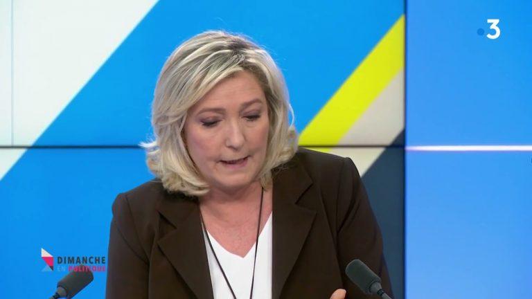 Marine Le Pen détaille ce que sera son référendum sur l'immigration
