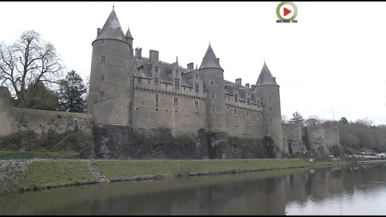 Josselin (56) et son beau Château en Hiver