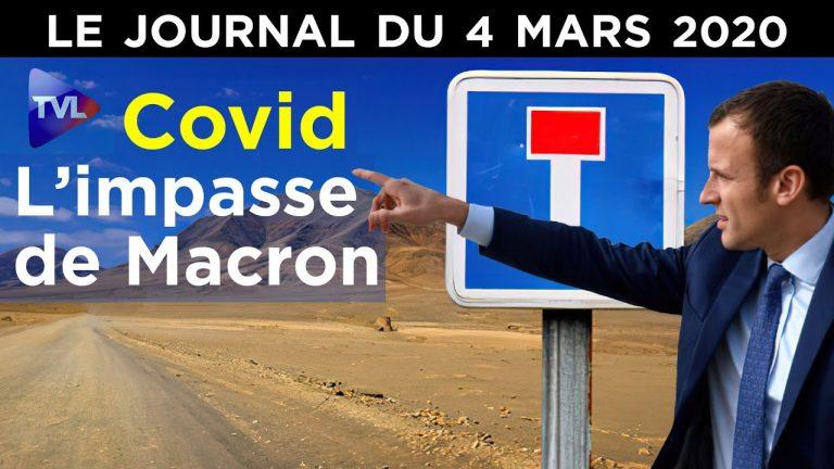 Couvre-feu et contrôle social : le système Macron – JT du jeudi 4 mars 2021
