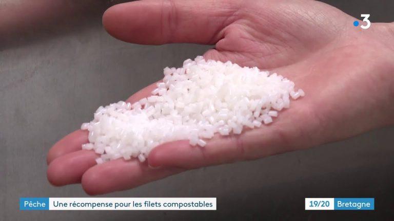 Larmor-Plage : Seabird invente un filet de pêche biodégradable et compostable