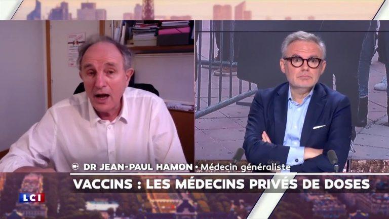 Le Dr. Jean-Paul Hamon demande la démission de Jérôme Salomon en direct sur LCI