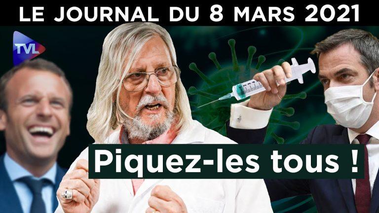 Covid : Les soignants dans la seringue du gouvernement – JT du lundi 8 mars 2021