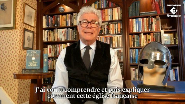 """Dol-de-Bretagne (35) : le Gallois Ken Follett reverse 148000 € de droits d'auteur de son livre """"Notre Dame"""" pour la restauration de la cathédrale"""