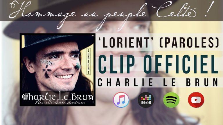 Charlie Lebrun chante Lorient et le Festival Interceltique