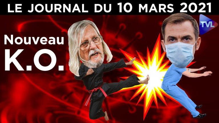 Le Pr Didier Raoult met tout le monde K-O ? – JT du mercredi 10 mars 2021