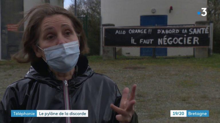 Saint-Nicolas-de-Redon : Rassemblement contre l'installation d'un pylône 5G