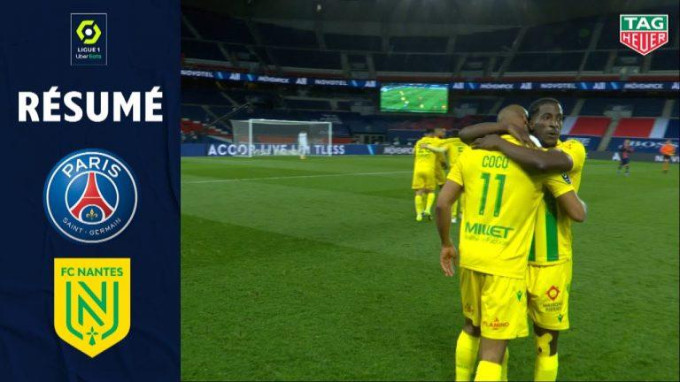 Le FC Nantes crée l'exploit à Paris, victoires du Stade Rennais, nul de Lorient, défaite du Stade Brestois
