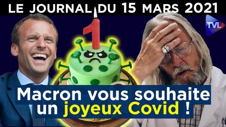 Covid : un an après, le retour du confinement ? – JT du lundi 15 mars 2021
