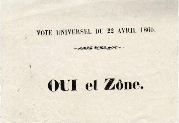 Savoie. Le référendum du 22 mars 1860 : « La farce la plus abjecte qui ait jamais été jouée dans l'histoire des nations »