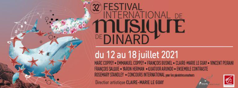 Dinard. Le programme du festival international de musique, du 12 au 18 juillet 2021