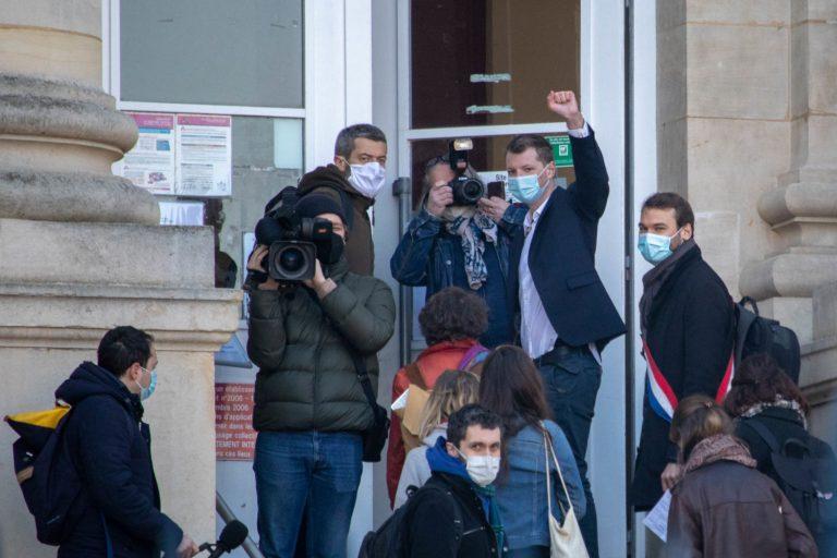 Gaspard Fontaine face à Emmanuel Macron : le tribunal relaxe le décrocheur