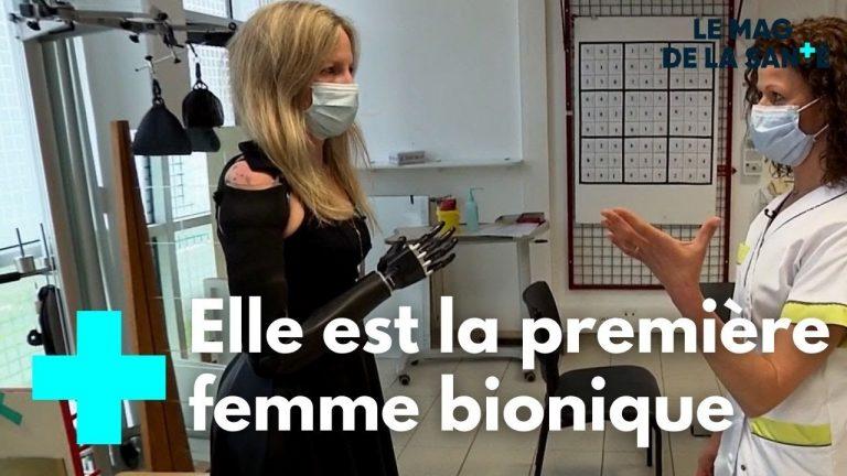 La première Française équipée d'un bras bionique témoigne