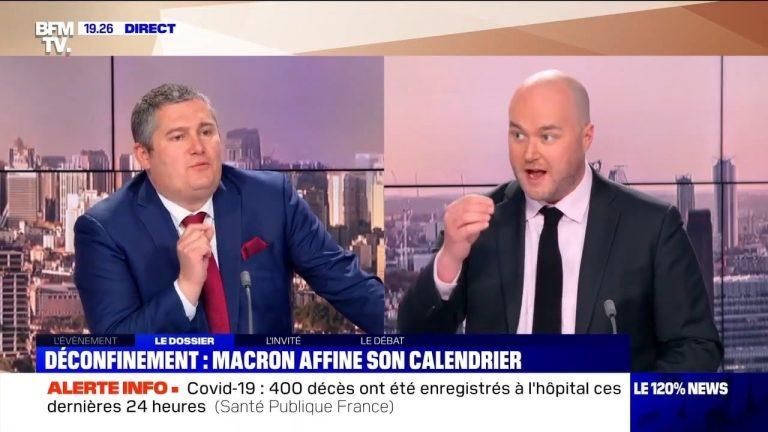 Covid-19. Un député LREM pris en flagrant délit de fake news en direct sur BFMTV