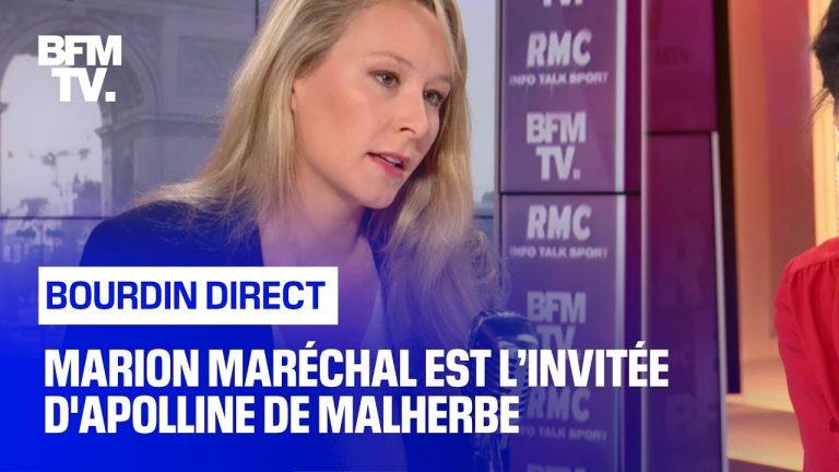 Marion Maréchal sur la tribune des généraux : « Cette tribune fait plus d'émoi dans le débat public et auprès des ministres que les émeutes que nous vivons depuis maintenant des semaines »