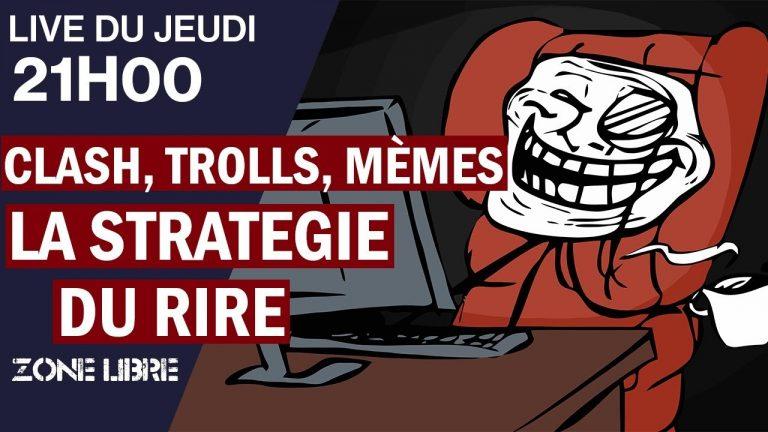 Clash, Trolls, Mèmes – La Stratégie du Rire Est-Elle De Droite ?