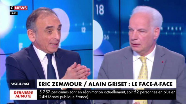 Eric Zemmour face à Alain Griset : « L'immigration abaisse le niveau scolaire »