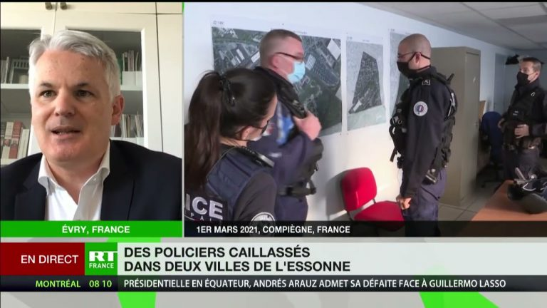 Alexandre Touzet revient sur les récentes agressions de policiers dans l'Essonne