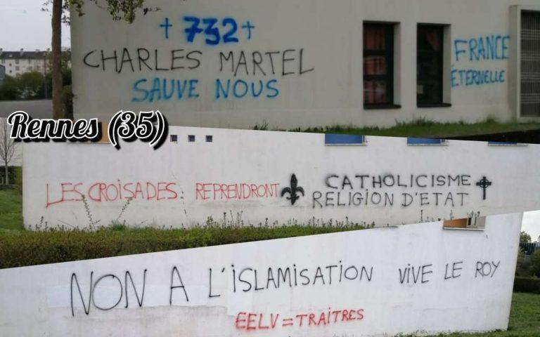 Tags sur une mosquée de Rennes. Ces drames récents pour lesquels Gérald Darmanin ne s'est pas déplacé