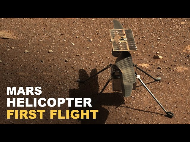 Conquête spatiale. L'hélicoptère Ingenuity vole sur Mars [Vidéo]