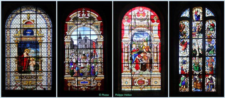 La lumière des siècles, les vitraux de Bretagne. Bernard Rio en conférence virtuelle le 15 avril
