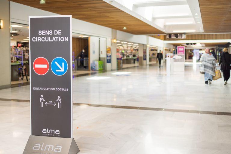 Tyrannie sanitaire. Le centre de shopping Alma à Rennes, précurseur du monde d'après ?