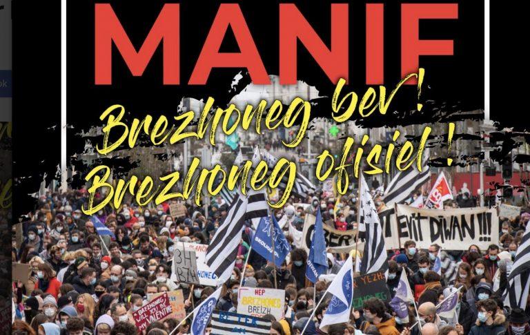 #BrezhonegOfisiel. Une manifestation pour la langue bretonne le 29 mai à Guingamp à l'arrivée de la Redadeg