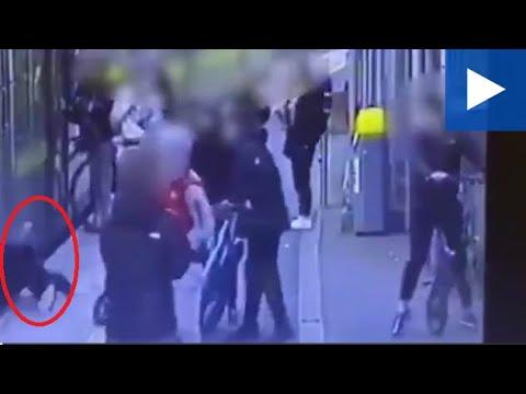 Irlande. Des individus poussent une jeune fille sous un train à l'arrêt
