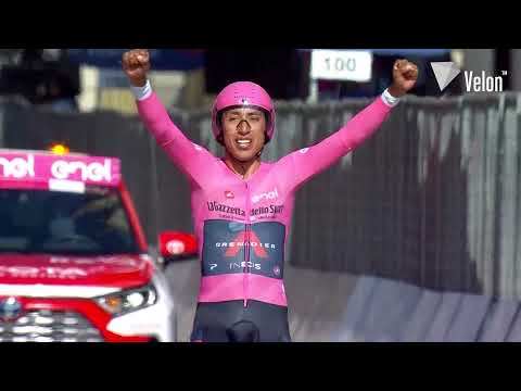 Giro 2021. Ganna pour conclure, Egan Bernal remporte le Tour d'Italie