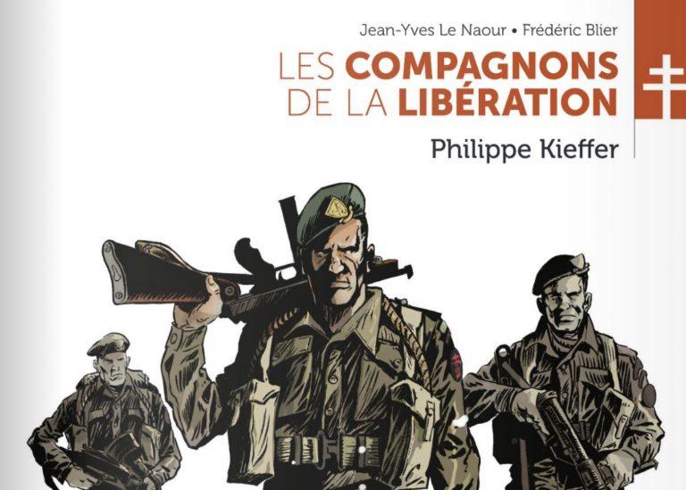 Brest. Jean-Yves Le Naour en dédicace à la librairie Dialogues pour Philippe Kieffer le 8 mai