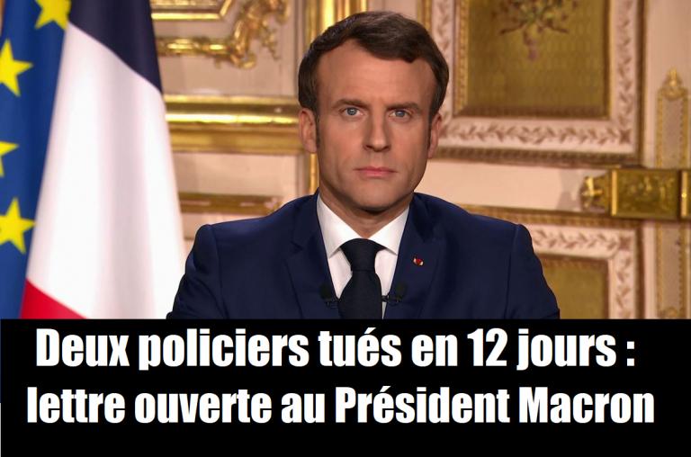France Police à Emmanuel Macron : « Il faut procéder au bouclage des 600 territoires perdus de la République, y compris avec le renfort de l'Armée»