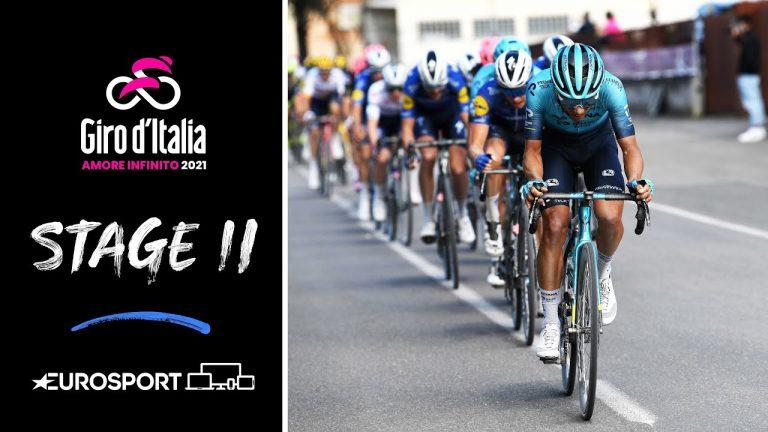 Cyclisme. Mauro Schmid remporte une 11ème étape du Giro agitée